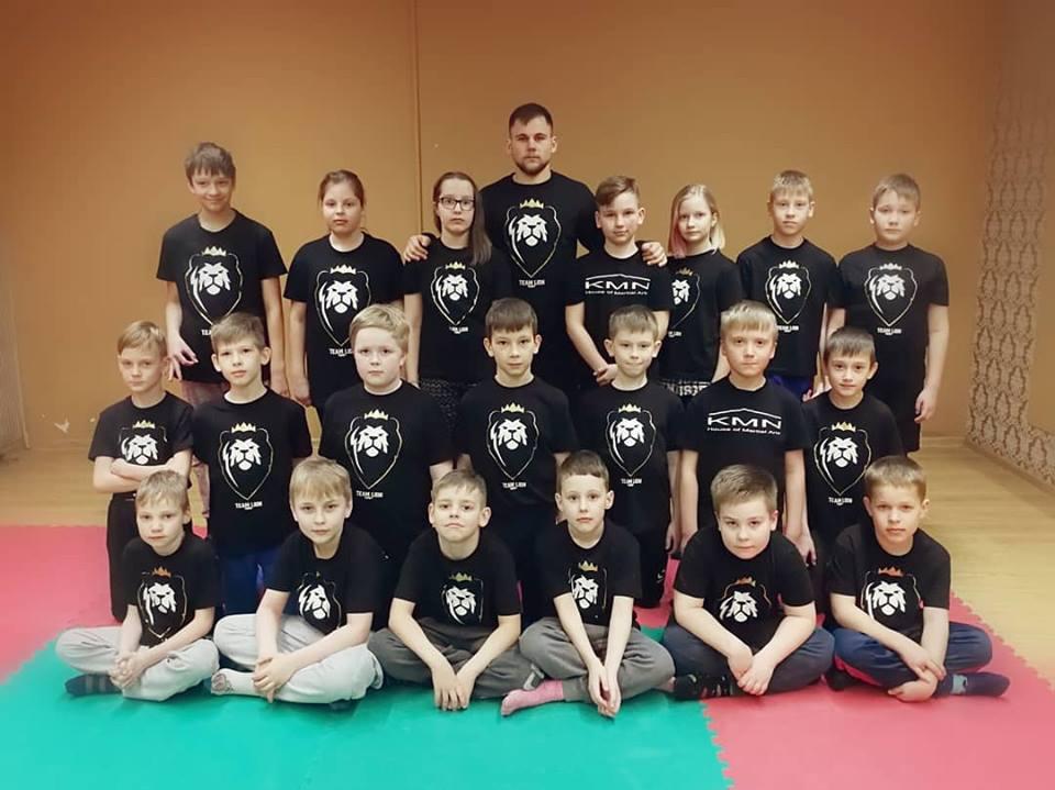 Team Lion treniruotės vaikams klaipeda